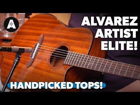 Alvarez Artist Elite Acoustics – Handpicked Tops For £699?!