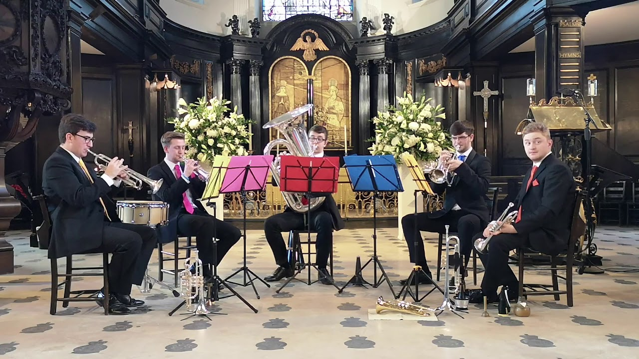 Concerto for 4 Violins In G 4th Movement - Big Smoke Brass - UK