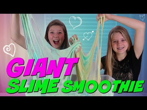 Download Youtube: GIANT SLIME SMOOTHIE || MIXING ALL MY SLIMES || Taylor and Vanessa