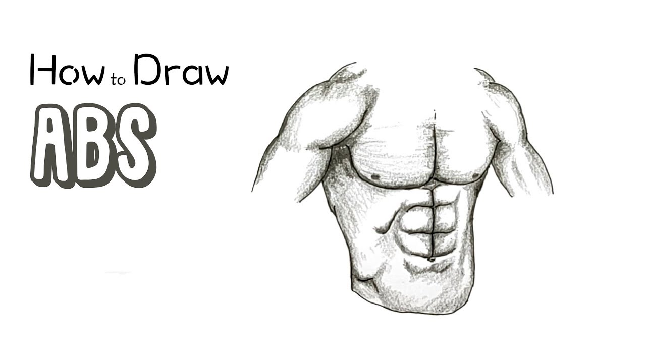 How To Draw Abs