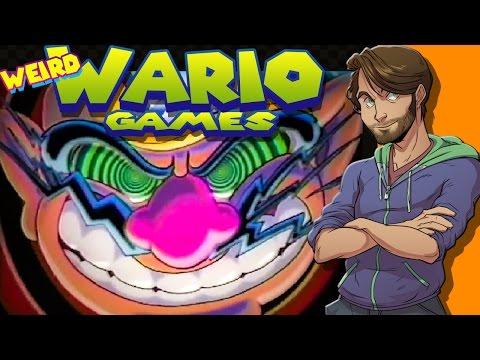 WEIRD WARIO GAMES - SpaceHamster