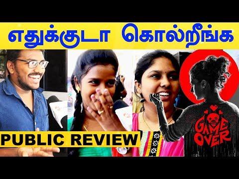Game Over Movie Public Review | Opinion | Taapsee Pannu | Vinodhini | Ramya | Sanchana | Y NOT