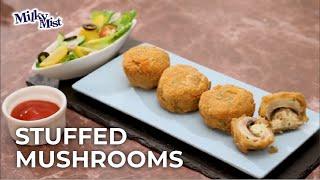 Cheese Stuffed Mushroom | Cheese Mushroom Recipe
