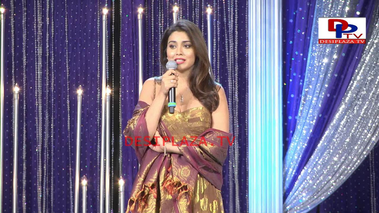Actress Shreya speech at America Telugu Convention - Dallas - Texas