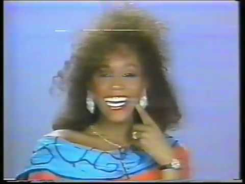Rare 1988 Whitney Houston interview for LIVE AT 5 and MTV