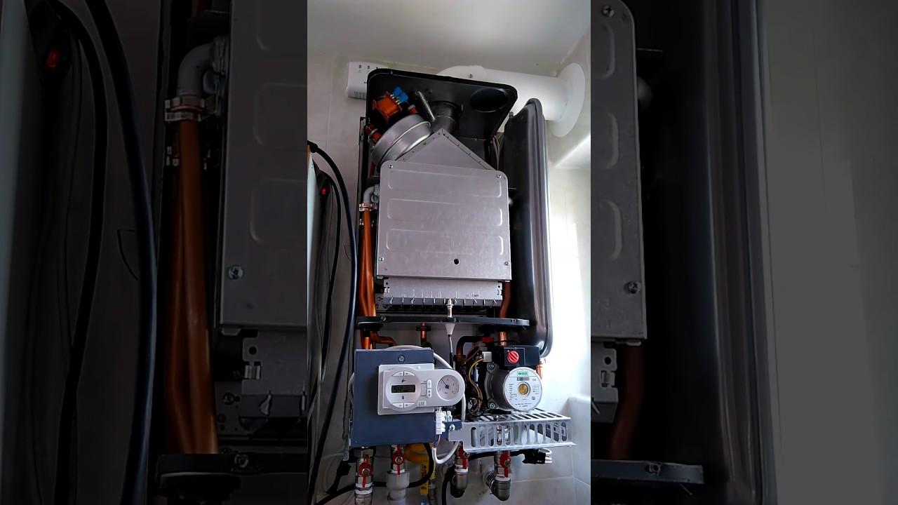 Замена теплообменника газового котла ferroli Кожухотрубный испаритель Alfa Laval DXD 65 Черкесск