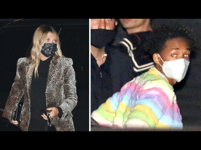 Sofia Richie And Jaden Smith Meet Up For A Dinner Date Despite Claiming They're