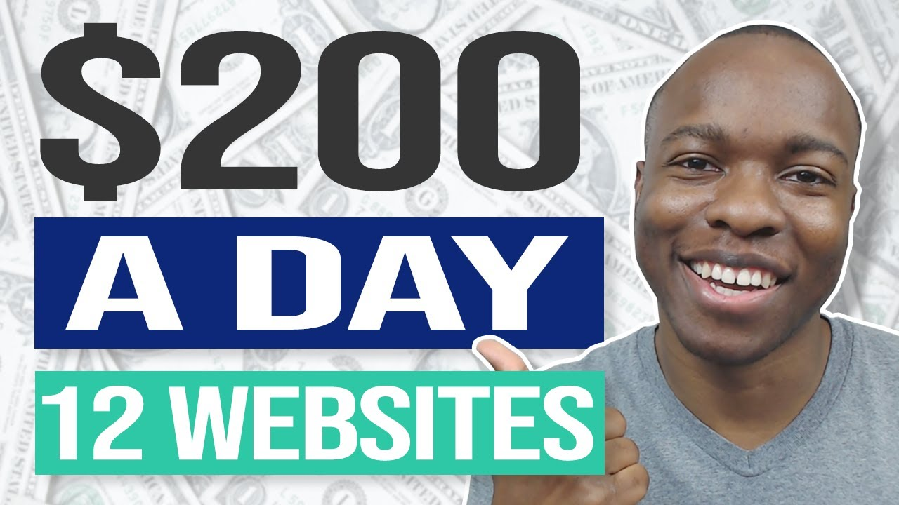 Download Want to GET PAID? 12 Websites To Make $200 A DAY For Beginners That Is Working NOW!
