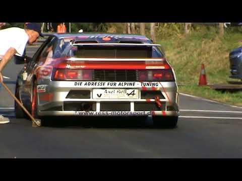 RENAULT Alpine V6 Turbo 2016 Bergrennen Axel Ress