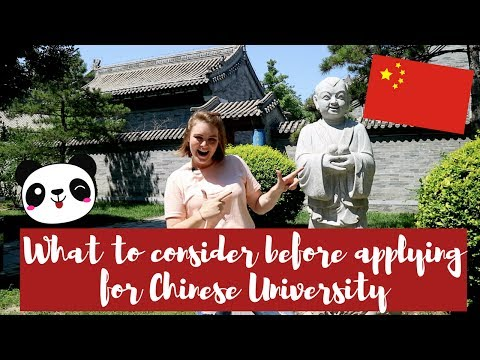 5 THINGS TO THINK ABOUT BEFORE APPLYING FOR CHINESE UNIVERSITY - SCHOLARSHIPS IN CHINA EP 2