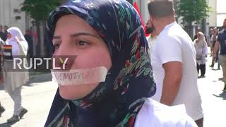 Germany: Al-Quds Day protest and counter-demo held in Berlin