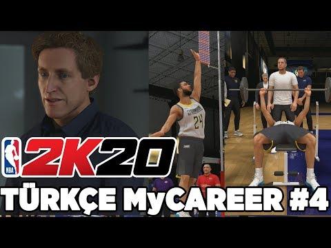 Türkçe NBA 2K20 MyCAREER #4 | NBA SEÇMELERİNE GİRDİM! AYAKKABI ANLAŞMASI..