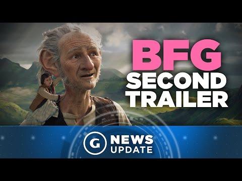 New Disney BFG Trailer Showcases Giant...