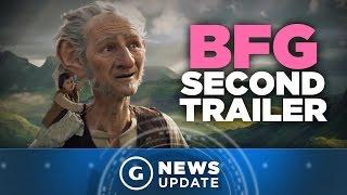 New Disney BFG Trailer Showcases Giant Action - GS News Update