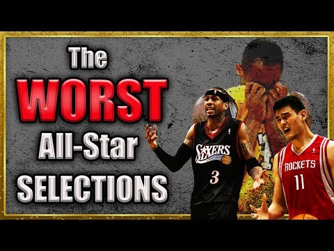 5 WORST All-Star Selections of ALL TIME
