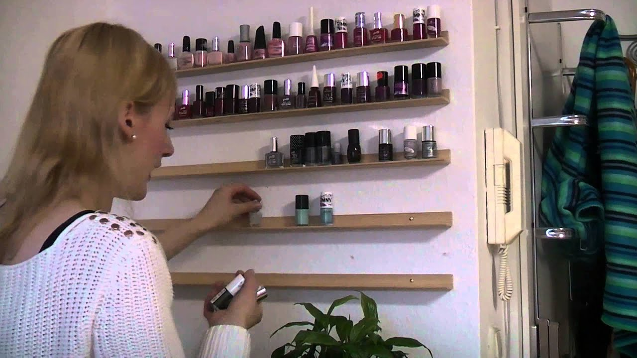 DIY Nagellackregal - YouTube