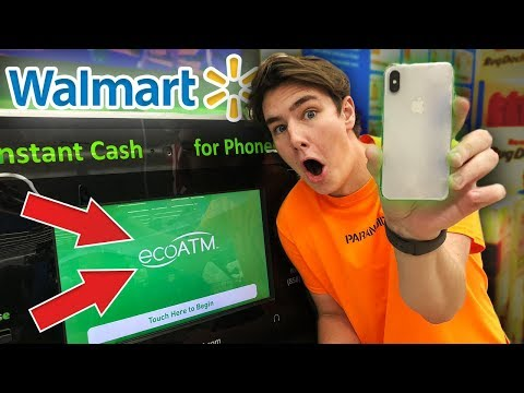 Thumbnail: Selling My iPhone X To a Machine at Walmart
