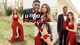 JUNIOR PROM GRWM 2019: makeup,hair & dress
