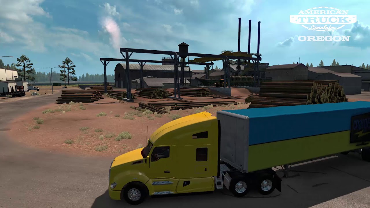 Buy American Truck Simulator - Oregon from the Humble Store