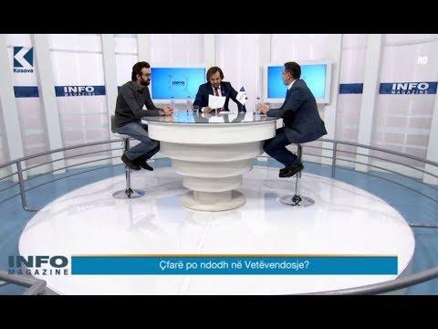Info Magazine:  Jusuf Thaçi, Valon Syla – 11.12.2017 – Klan Kosova