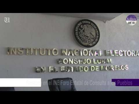 Realizan en el INE Foro Estatal de Consulta a los Pueblos y Comunidades Indígenas