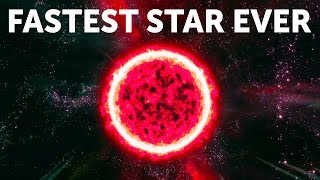 The Fastest Star Ever Is Going Through Our Galaxy