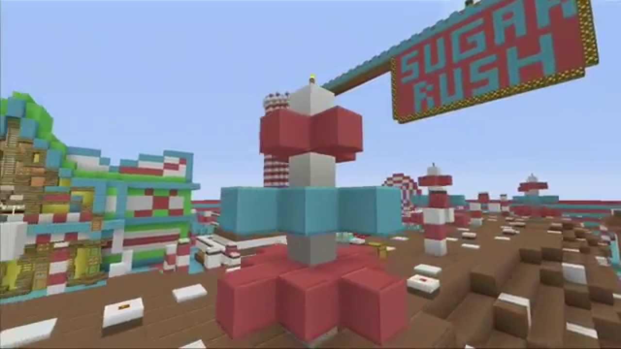 Minecraft Xbox Sugar Rush Hunger Games WDownload YouTube - Minecraft maps fur kinder
