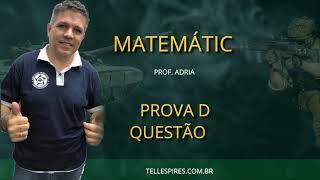 Resolução de Matemática EsPCEx - Questões 11 a 20 - Professor Adriano