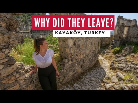 Turkish Abandoned Ghost Town | Kayaköy Fethiye Turkey