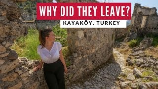 Turkish Abandoned Ghost Town | Kayaköy Fethiye Turkey | Digital Nomad World Travel Vlog 3