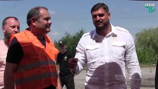 На Николаевщине приступили к ремонту трассы Н-11