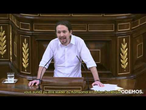 Premier discours de Pablo Iglesias à la tribune du parlement espagnol [02/03/16] sous-titré français
