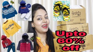 FirstCry Winter Shopping haul || Upto 60% Off