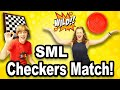 SML INTENSE Checkers Match!!! (GREATEST COMEBACK OF ALL TIME)