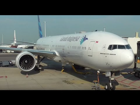 Garuda Indonesia Boeing 777-300 Flight Experience Schiphol A