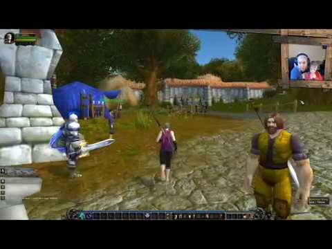 World of Warcraft - Goldshire - Human Starting area - Human Monk - Levels 4-6