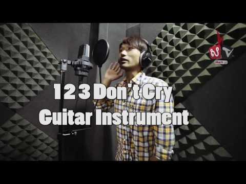 123 Don't cry ហាមយំ - Pipo Chouk Karaoke (ភ្លេងសុទ្ធ) Pleng Sot
