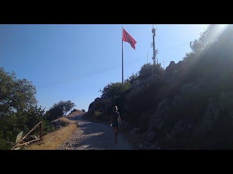 Пешком в Кемер из Кириша через гору Чалыш. Турция 2019