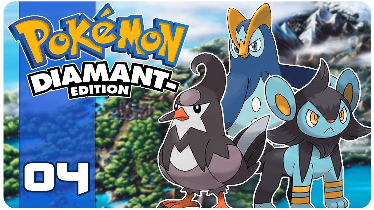 Pok mon diamant triple evolution 04 let 39 s play youtube - Evolution pokemon diamant ...