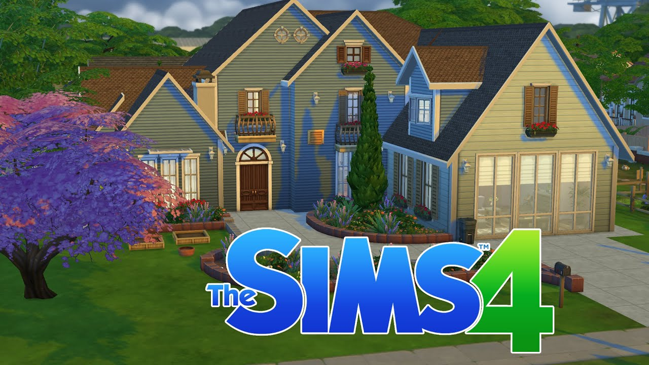 My dream home sims 4 build youtube for Dream house builder