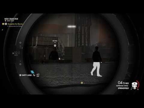 Sniper Elite 4 Hitler has only got one ball