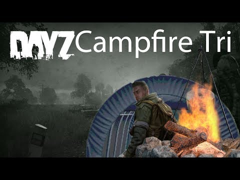DayZ Xbox One Gameplay Campfire Tripod Cooking Pot & Car Tent Guide