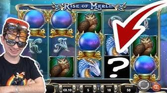 Volle Reihe Mega Symbol 5€ Einsatz Rise of Merlin