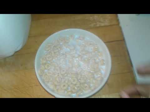 SALT IN YOUR CEREAL PRANK (SHE SAID SHE LIKED IT)