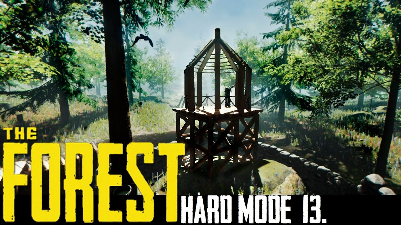 Gazebo Wall Planter The Forest Hard Mode Let Splay Part 13
