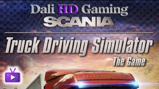 Scania Truck Driving Simulator PC Gameplay HD 1440p