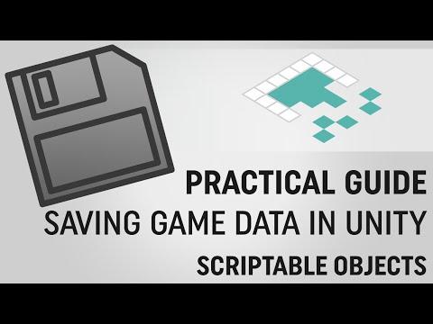 Saving Data in Unity: ScriptableObjects - YouTube