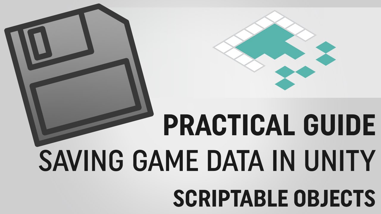 Saving Data in Unity: ScriptableObjects