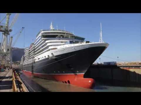 Cunard Refit For A Queen - Tracking queen victoria cruise ship