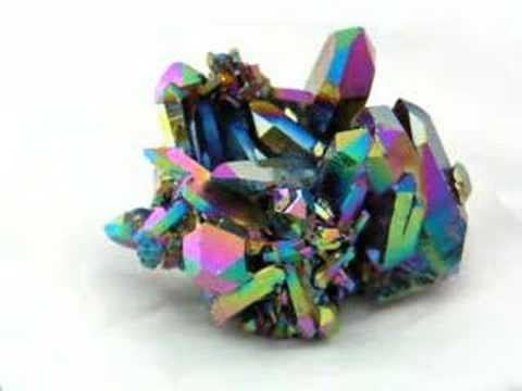 Rainbow Aura Quartz Crystal Youtube